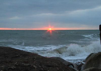 Sunrise Shankill Beach